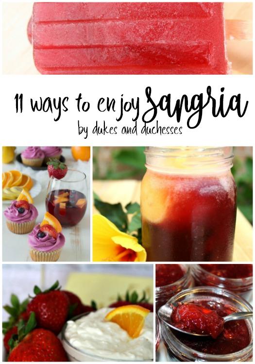 11 ways to enjoy sangria