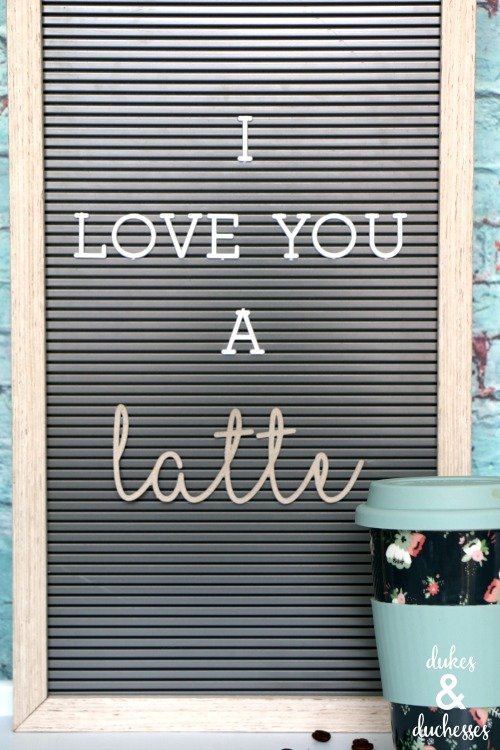 DIY accessories for letter boards