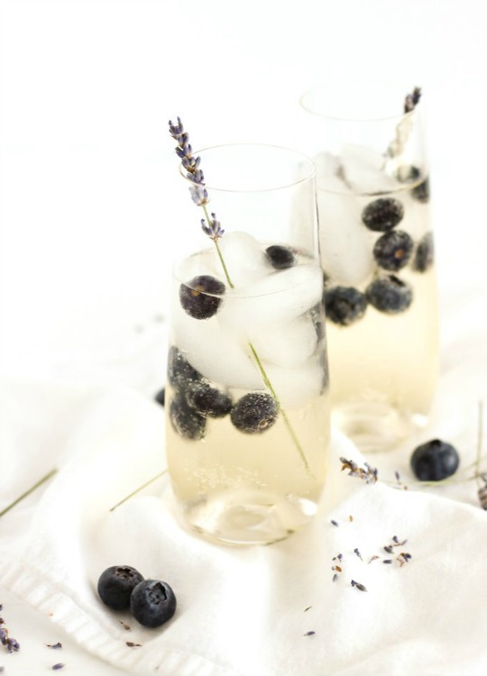 blueberry lavender sangria