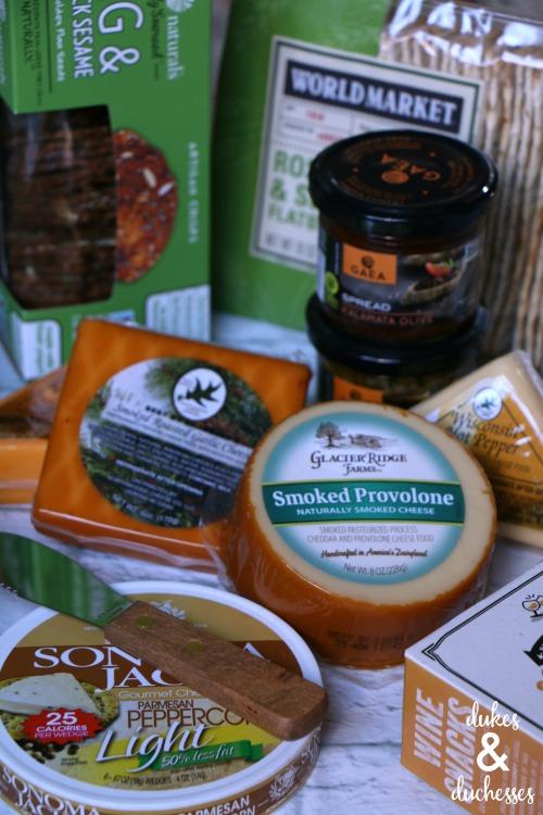 cheese board ingredients