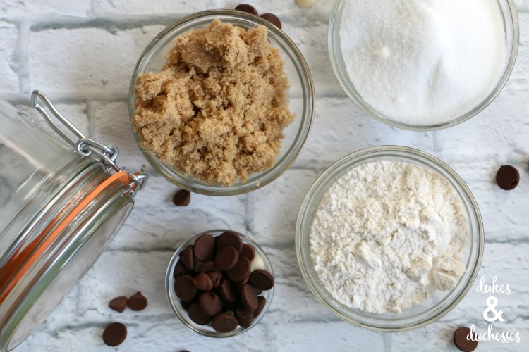 cookie mix ingredients