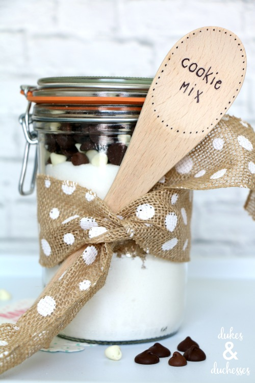 cookie mix jar gift idea
