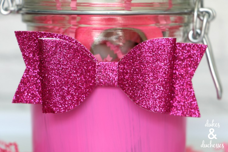 decorated jar for girls