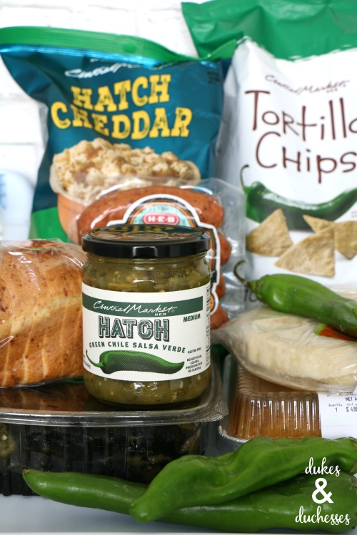 hatch chile products at central market