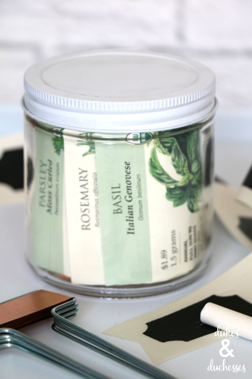 herb garden gift idea