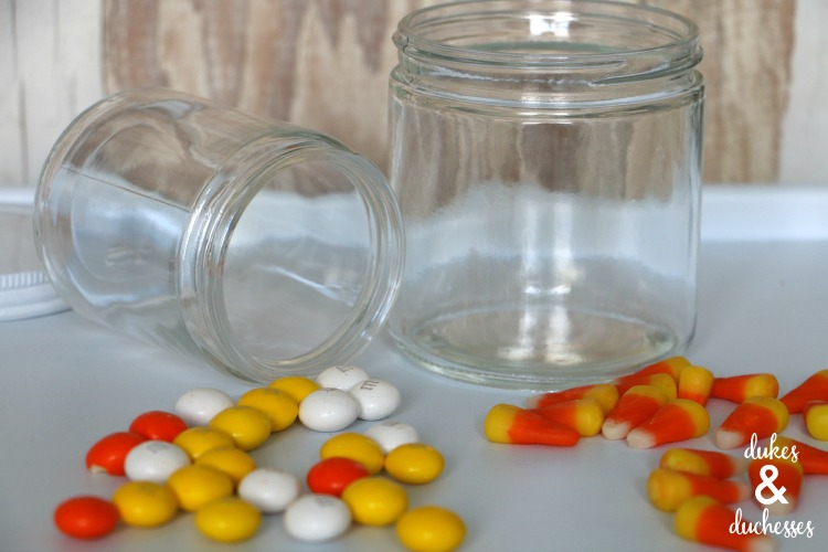 candy corn halloween gift idea