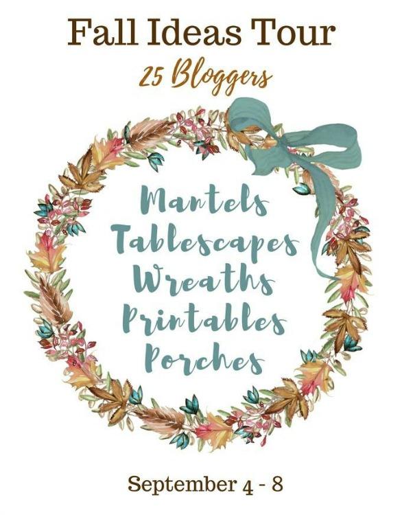 fall ideas blog tour