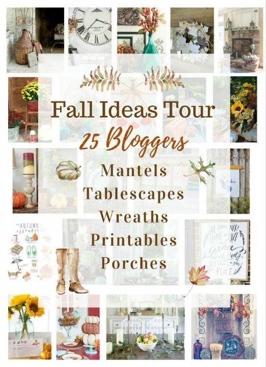 fall ideas blogger tour