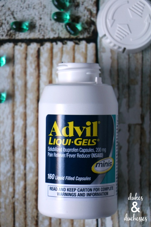 advil liqui-gels minis at target for first aid kit