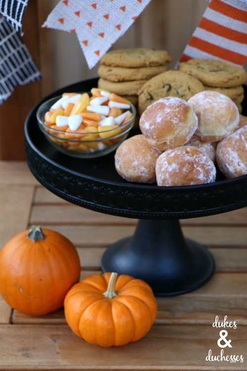 baked pumpkin treats