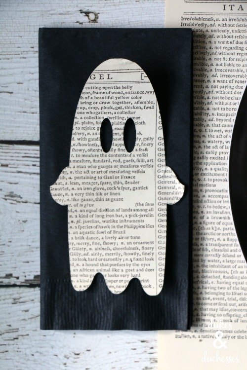 book page ghost