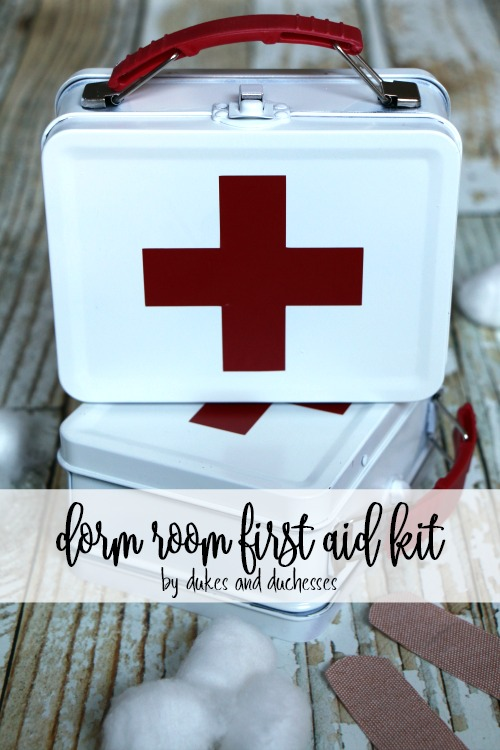 dorm room first aid kit