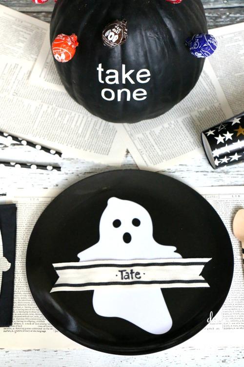 halloween tablescape idea