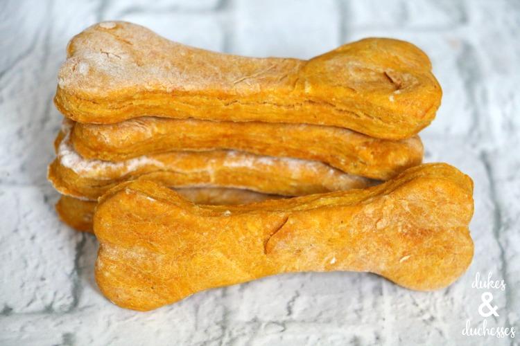 homemade pumpkin dog biscuit recipe
