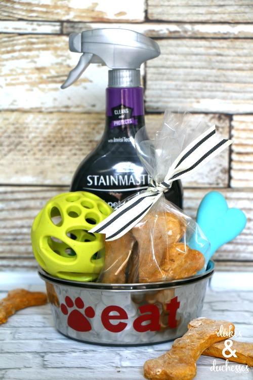 new puppy gift basket