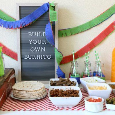 Breakfast Burrito Bar