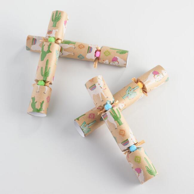 llama christmas crackers