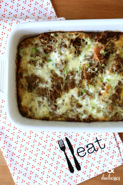 make ahead brunch bake