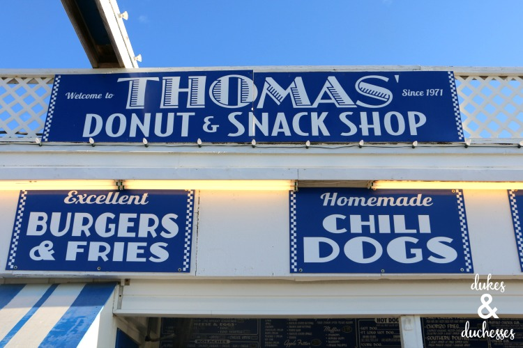 thomas donut and snack shop