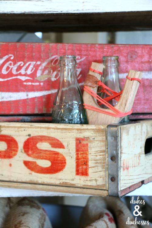 vintage treasures at the shadow box