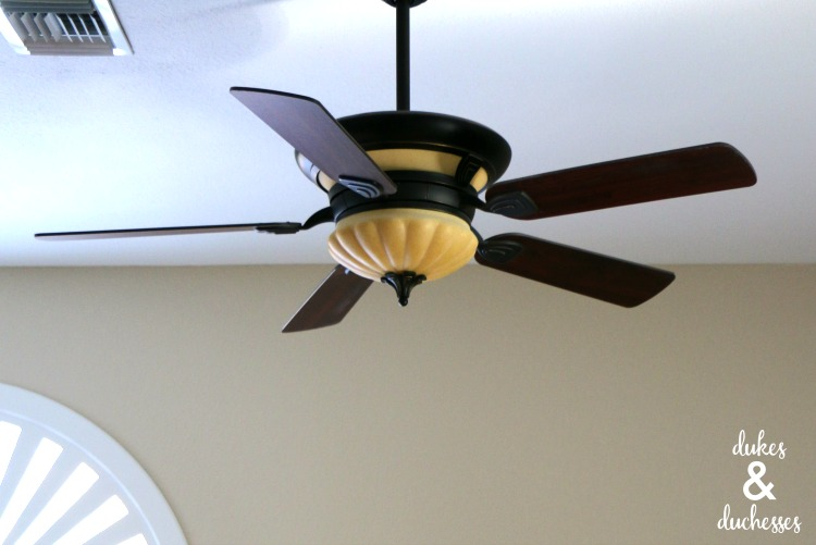 ceiling fan in gathering room