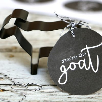 You're the Goat Cookie Cutter Gift Idea