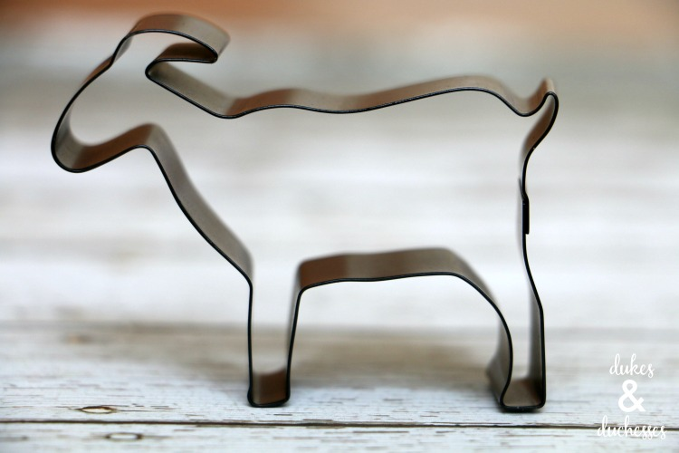 goat cookie cutter from hearth and hand with magnolia