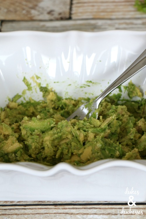 mashed avocados from mexico