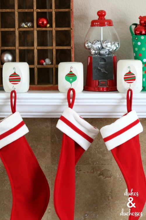 repurposed stocking hangers