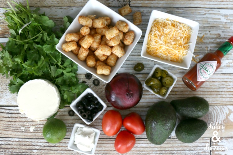 tex mex totchos ingredients