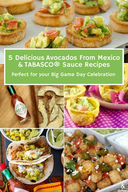 avocado recipes with tabasco and avocados from mexico