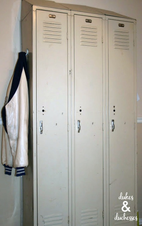 athletic lockers from resale store