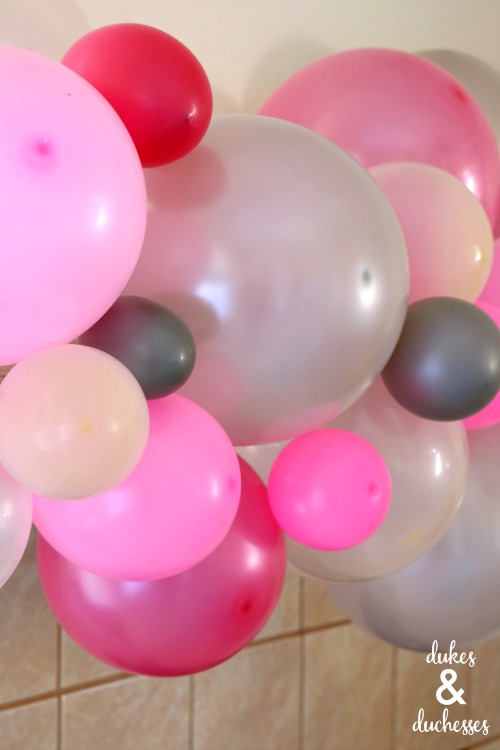 balloon garland how to
