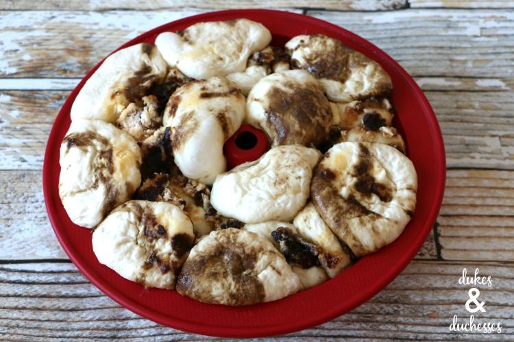 frozen bread dough cinnamon rolls