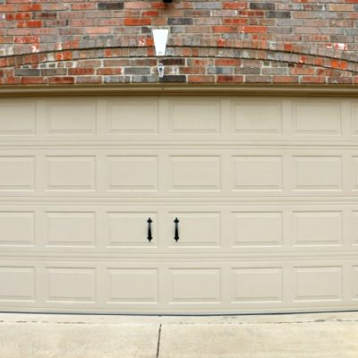 Cheap and Easy Garage Door Makeover