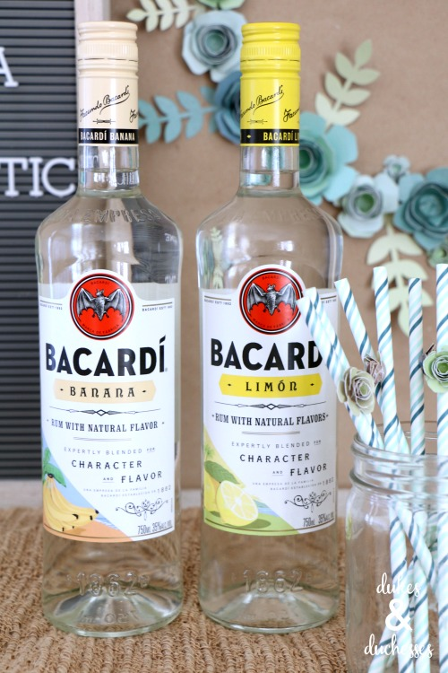 bacardi rum with natural flavors