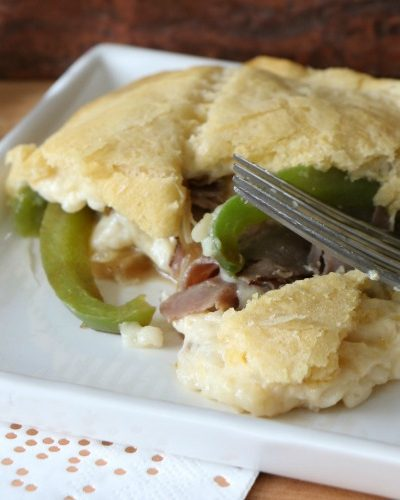 Baked Philly Cheesesteak Recipe