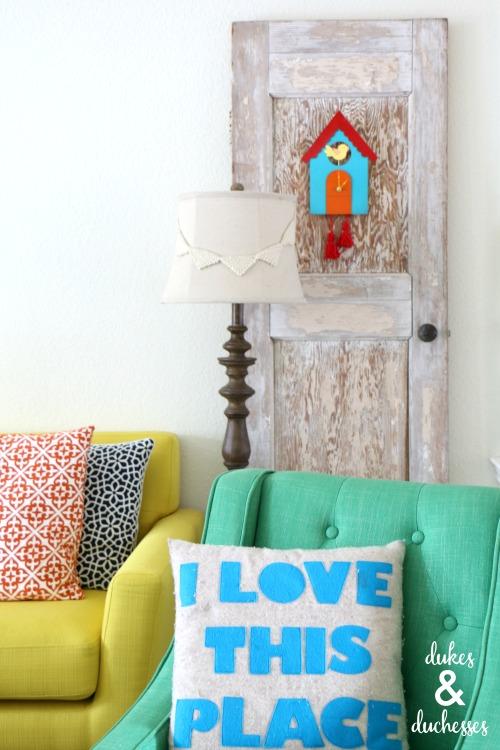 whimsical DIY cuckoo clock