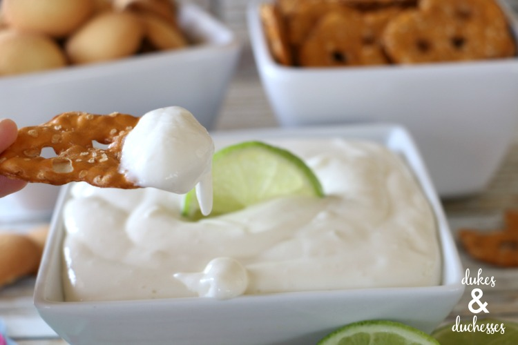 easy lime cheesecake dip recipe