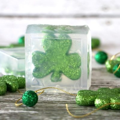 Shamrock Soap with Printable