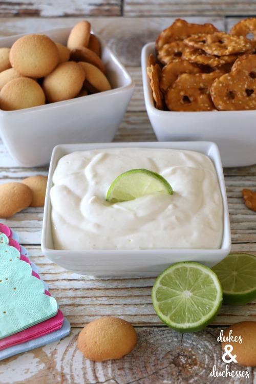 lime cheesecake fruit dip