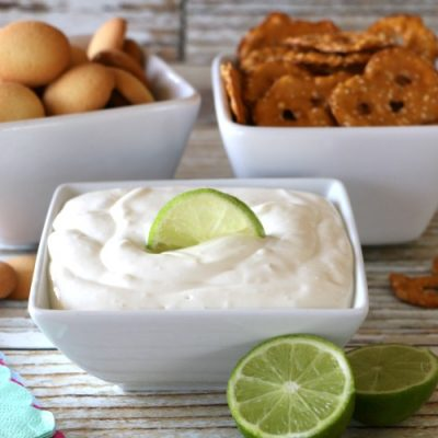 Easy Lime Cheesecake Dip