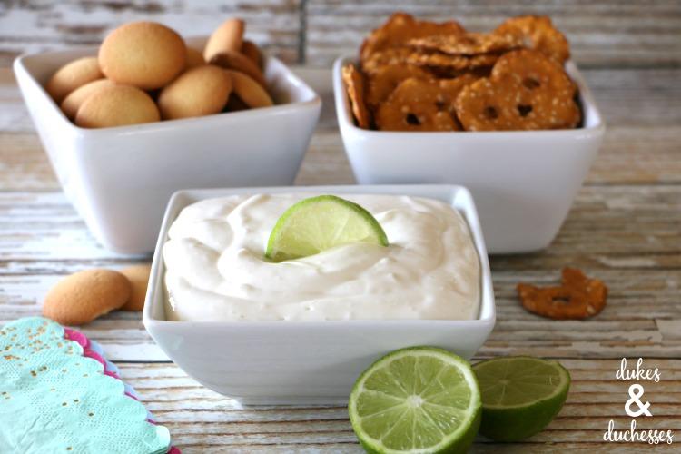 lime fruit dip recipe