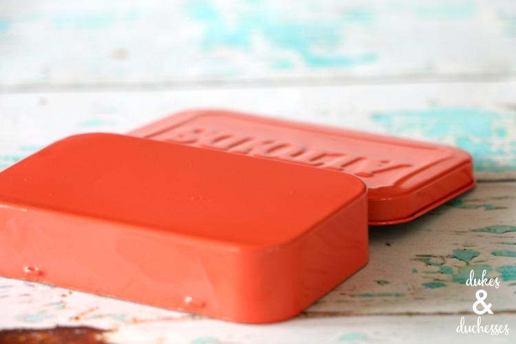 repurposed mint tin toothbrush kit