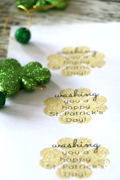 soap printable for st patrick's day