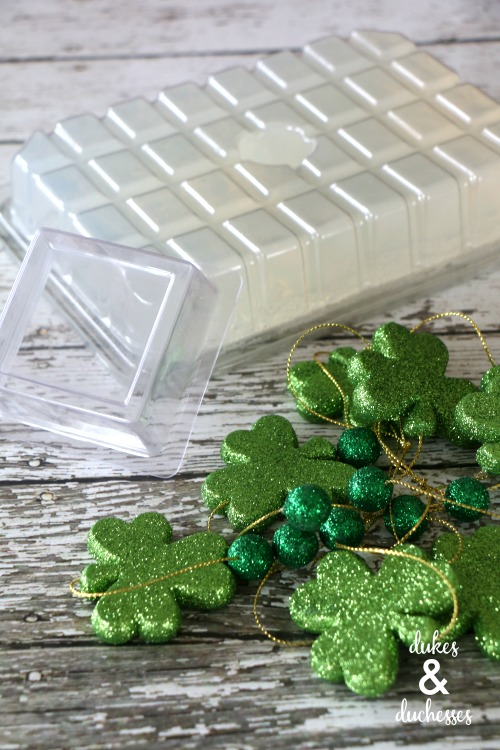 supplies to make st patrick's day soap