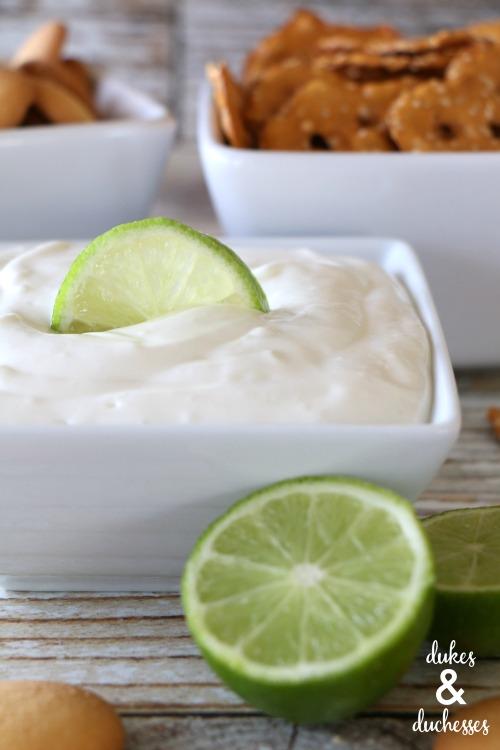 tart lime fruit dip recipe