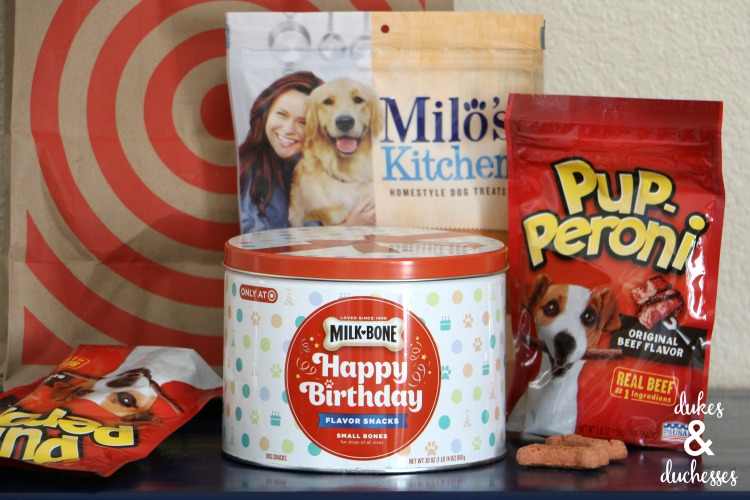 milk bone birthday canister at target