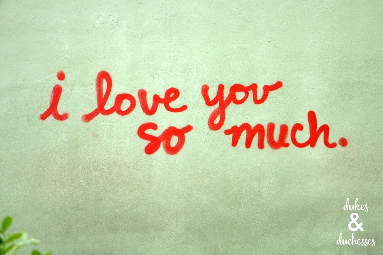 love you so much austin wall art