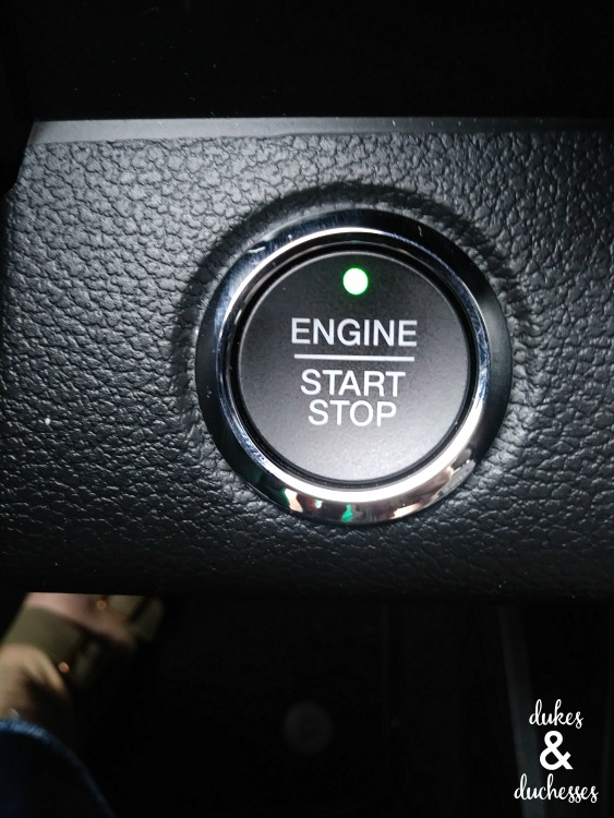push button start on ford expedition